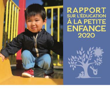 Rapport sur l'éducation à la petite enfance - 2020
