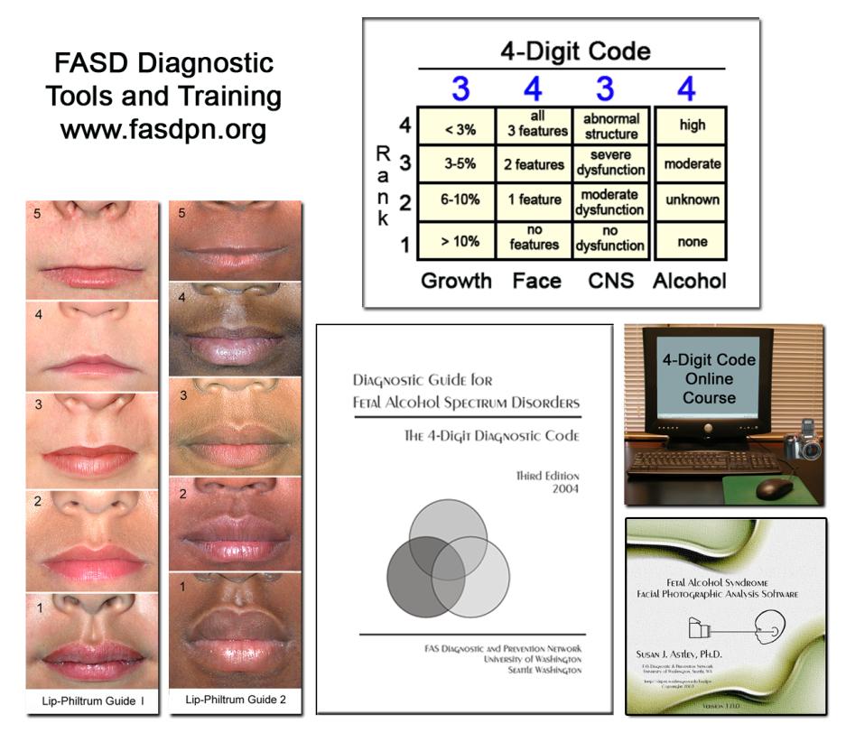 FASD diagnostic tools and training